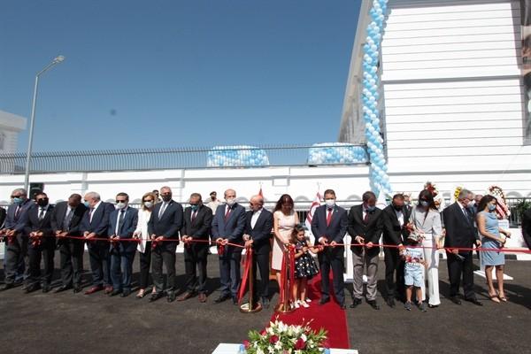 Dr. Suat Günsel Girne Koleji törenle açıldı...