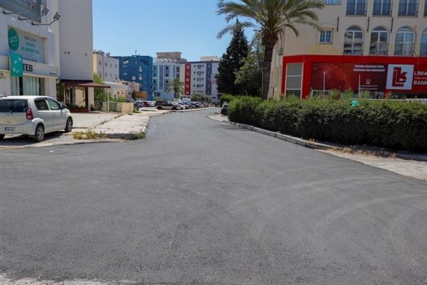 Dumlupınar Mahallesi asfalt dökümü tamamladı