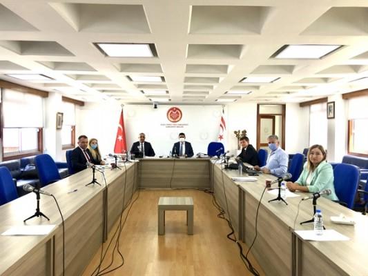 KIB-TEK'le ilgili araştırma komitesi toplandı