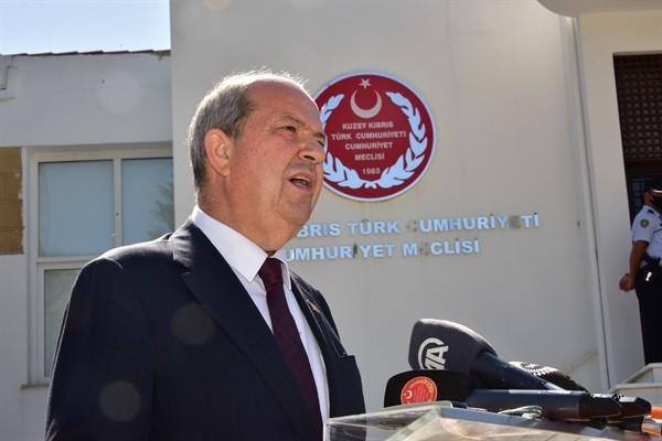 Tatar: CTP'nin toplantıya katılmamasını yadırgadım