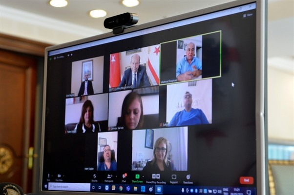 Tatar, Cumhurbaşkanlığı Bilim ve Sağlık Komitesi ile görüştü