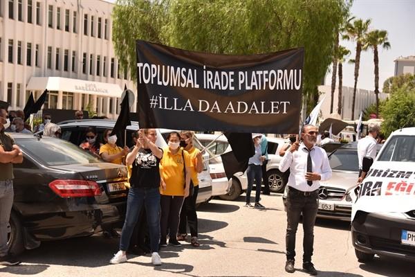 5 Örgüt, Başbakanlık önünde eylem düzenledi