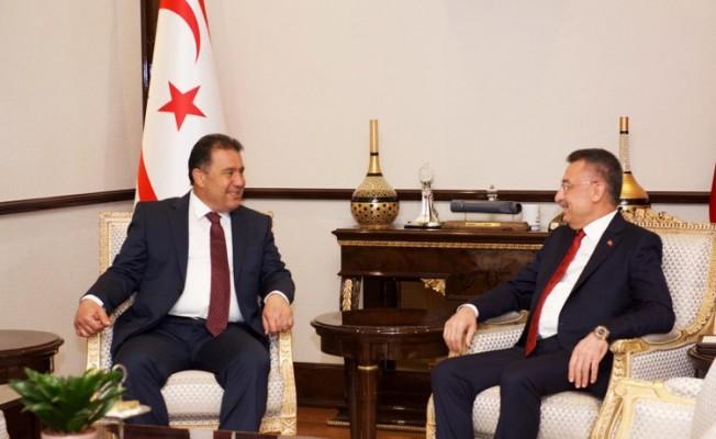 Başbakan Saner, Fuat Oktay ile görüştü