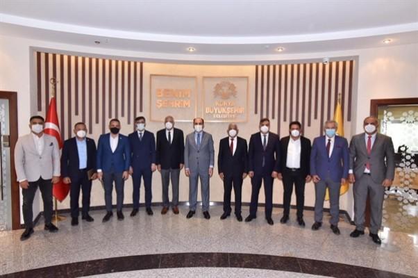 Belediyeler Birliği, Konya'daki temaslarını tamamladı