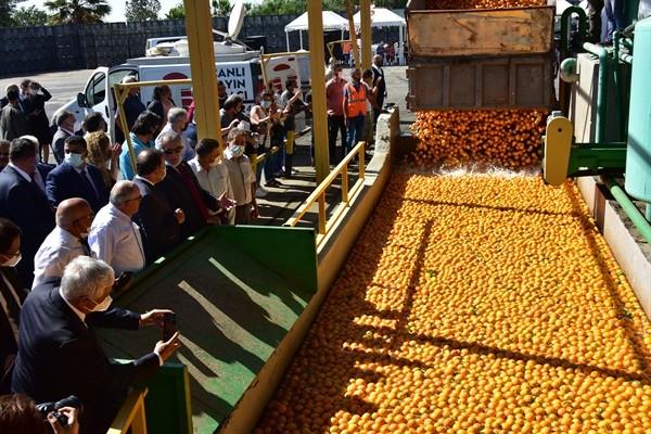 Cypfruvex hasat sonu töreni düzenlendi…