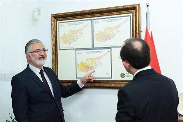Mehmet Muş, İbrahim Benter'i ziyaret etti