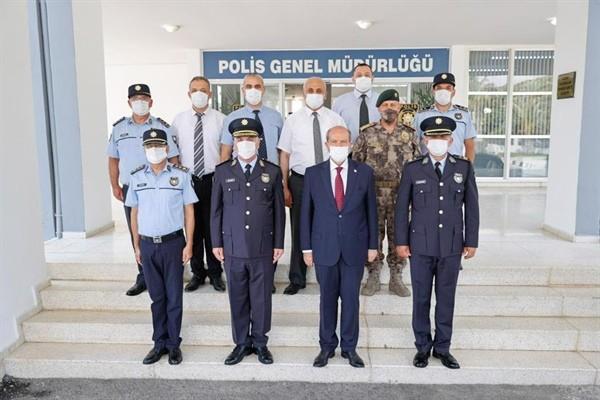 Tatar, Polis Genel Müdürlüğünü ziyaret etti