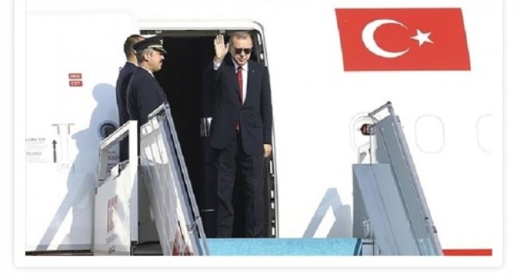 Cumhurbaşkanı Erdoğan KKTC'de…