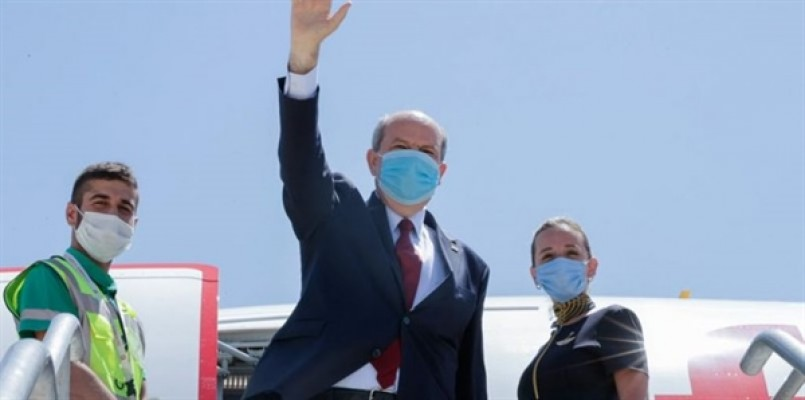 Cumhurbaşkanı Ersin Tatar, Adana'da...