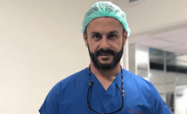 Dr. Erol Uçaner'in hızlı test  sonucu pozitif!