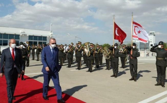Erdoğan KKTC'den ayrıldı...