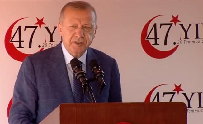 Erdoğan: Sonuna kadar hakkımızı savunacağız