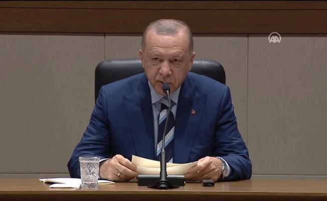 Erdoğan: Tatar'ın Cenevre'deki önerisi tarihi bir fırsattır