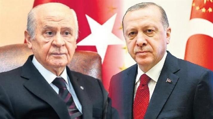Erdoğan ve Bahçeli geliyor...