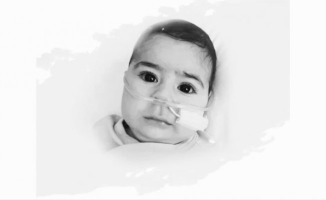 Karel bebek yaşam savaşını kaybetti