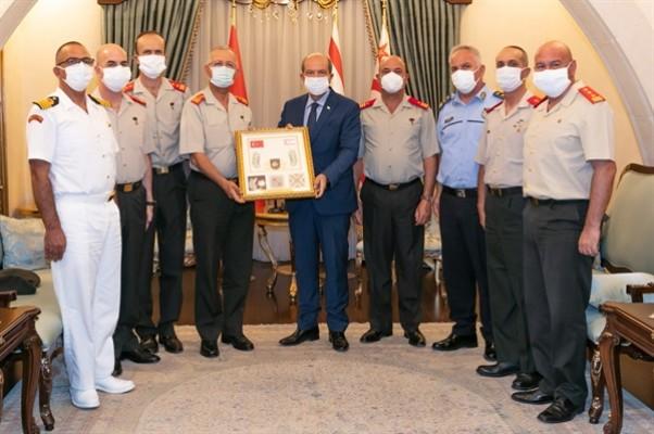Komutanlardan Tatar'a 1 Ağustos ziyareti