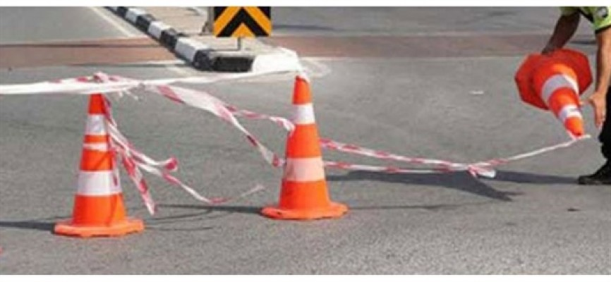 Lefkoşa ve Gazimağusa'da bazı yollar trafiğe kapatılacak