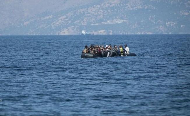 Taşlıca sahilinde 17 sığınmacı tespit edildi