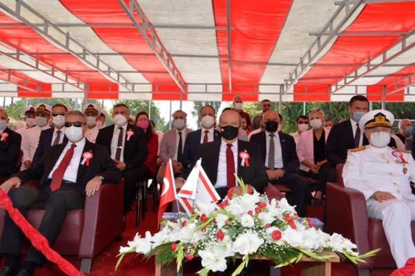 Tatar Mersin'de düzenlenen törene katıldı