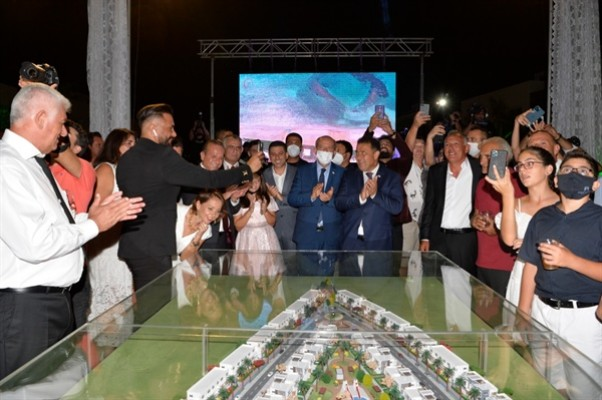 Tatar sahil evleri projesinın lansmanına katıldı