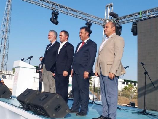 Uluslararası Kuzey Kıbrıs Kültür ve Spor Festivali açılışı yapıldı