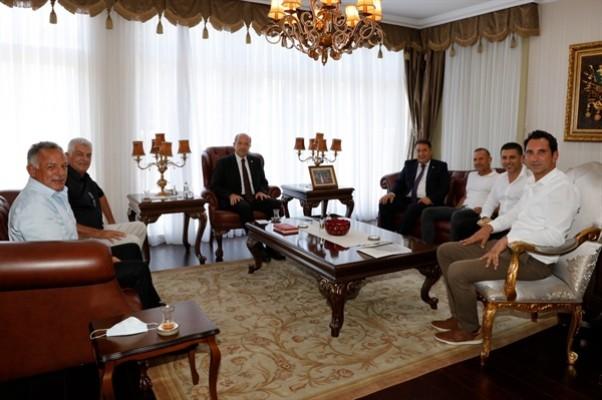 Cumhurbaşkanı ve Başbakan'dan destek istendi
