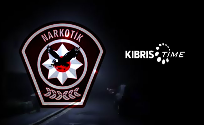 Ercan'da 3.5 kilo uyuşturucu yakalandı
