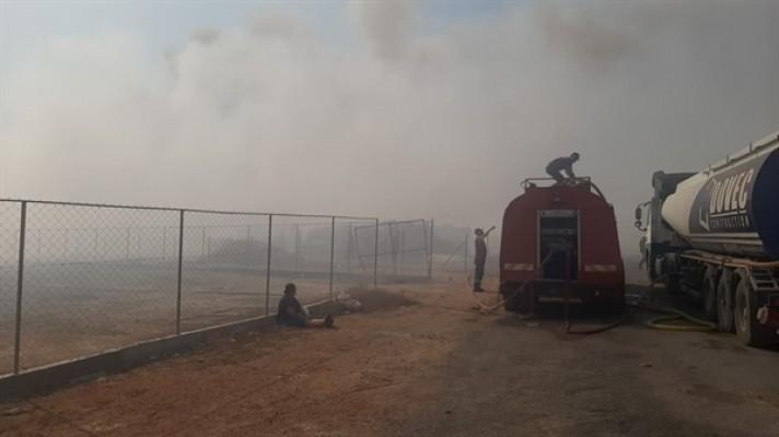 Güvercinlik'teki yangında 80 dönüm alan yandı