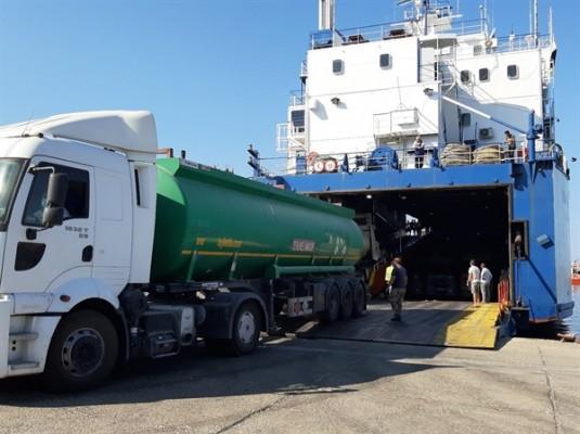 KIBTEK için 1200 ton yakıt geldi