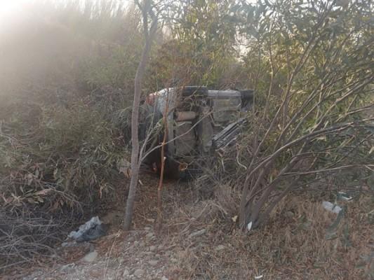 Lefkoşa-Girne ana yolunda kaza