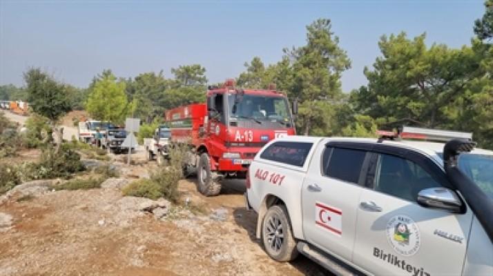 Sivil Savunma Manavgat'ta çalısmalarına devam ediyor...