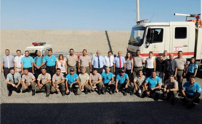 Sivil Savunma ve Orman Dairesi ekipleri yurda döndü