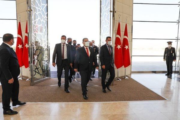 Başbakan Saner Ankara'da