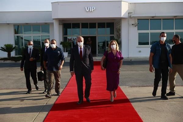 Cumhurbaşkanı Tatar, Türkiye'ye gitti...