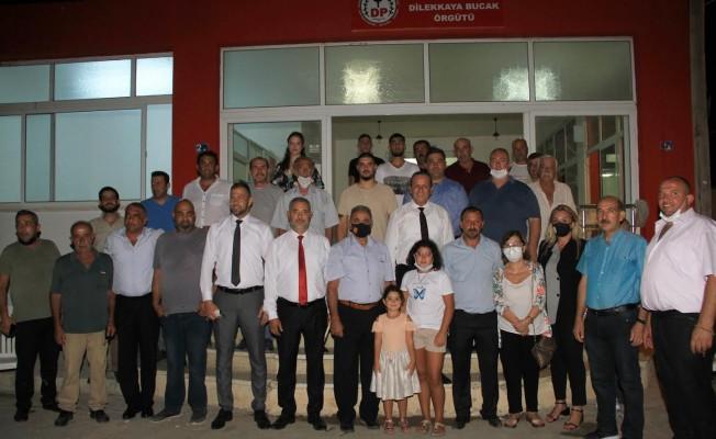DP, Dilekkaya'da örgüt binası açtı