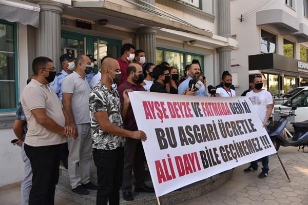 KTAMS'tan asgari ücret protestosu