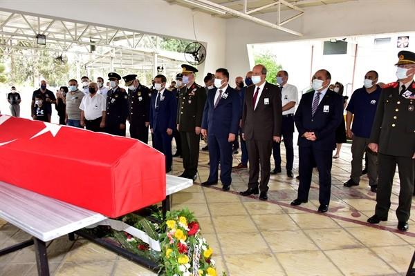 Şehit Şevket Mustafa Gürsoy 57 yıl sonra KKTC'de