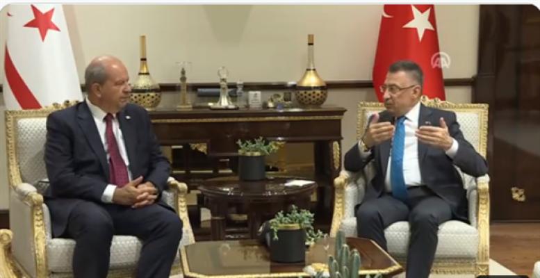 Tatar Ankara'da Fuat Oktay'la görüştü