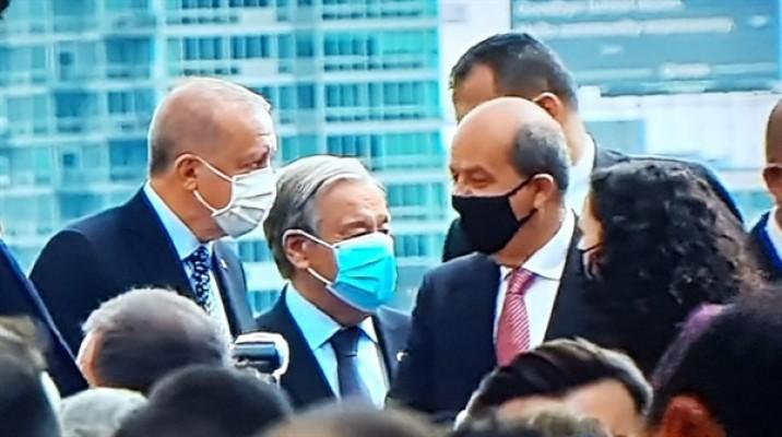 Tatar Cumartesi günü Guterres ile görüşecek