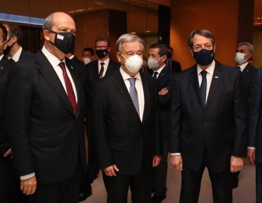 Tatar, Guterres ve Anastasiadis ile bu akşam görüşüyor