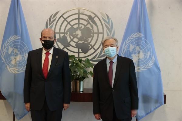 Tatar New York'ta Guterres ile görüştü