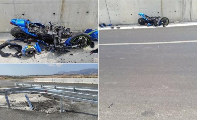 Veli Umut Erkal adlı motisiklet sürücüsü ağır yaralı!