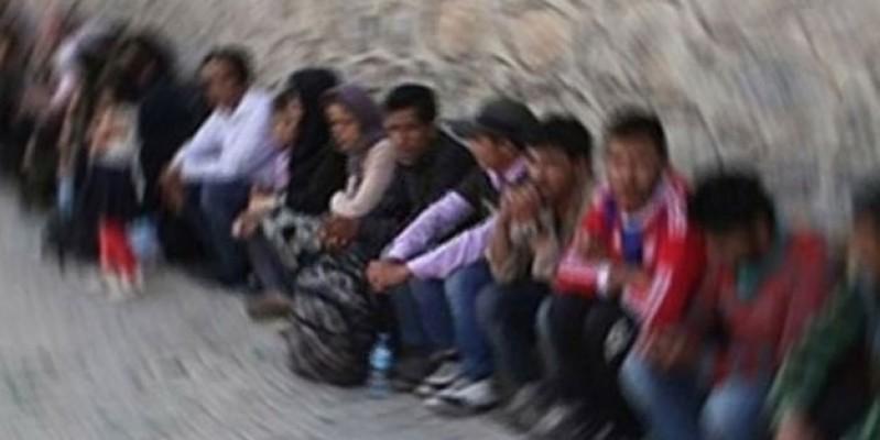 8 Suriye uyruklu düzensiz göçmen bulundu...