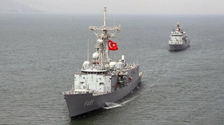 Akdeniz'de Rum gemisinin kıta sahanlığı ihlaline müdahale