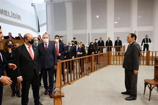 Cumhurbaşkanı Tatar Yassıada'yı ziyaret etti