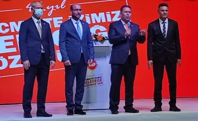 Hasan Büyükoğlu ve Mesut Genç artık UBP'li...