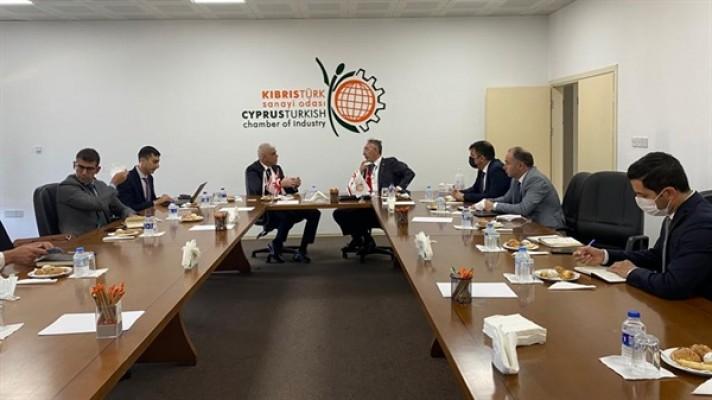 KKTC'deki sanayi bölgelerine Türkiye'den destek