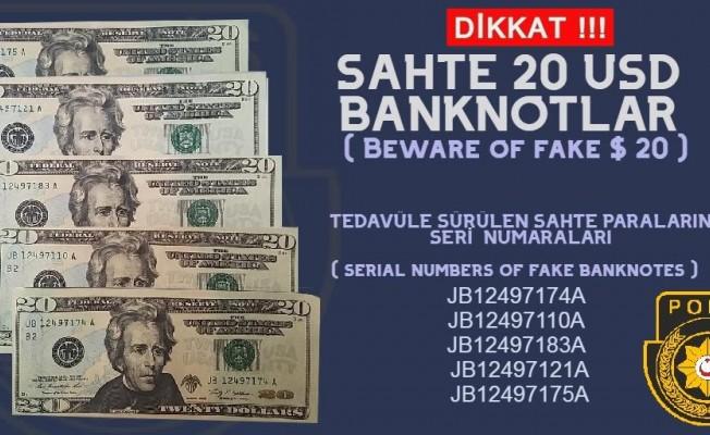 Polisten sahte Dolar uyarısı