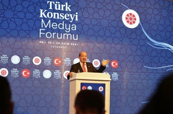 Tatar Türk konseyi medya forumu'na katıldı