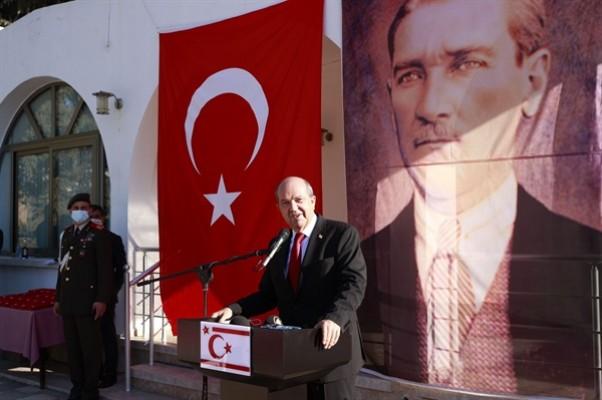 """""""Tüm dünyaya bağımsızlığımızı, özgürlüğümüzü haykırıyoruz"""""""